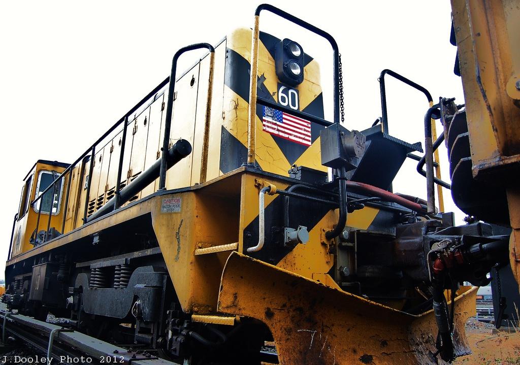 (336k, 1024x719)<br><b>Country:</b> United States<br><b>City:</b> New York<br><b>System:</b> New York City Transit<br><b>Location:</b> Coney Island Yard<br><b>Car:</b> R-43 Locomotive  60 <br><b>Photo by:</b> John Dooley<br><b>Date:</b> 12/8/2012<br><b>Viewed (this week/total):</b> 1 / 447