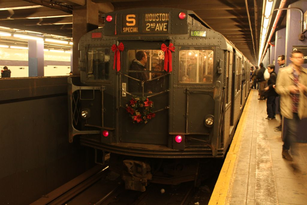 (124k, 1024x683)<br><b>Country:</b> United States<br><b>City:</b> New York<br><b>System:</b> New York City Transit<br><b>Line:</b> IND 6th Avenue Line<br><b>Location:</b> 2nd Avenue <br><b>Route:</b> Museum Train Service<br><b>Car:</b> R-6-1 (Pressed Steel, 1936)  1300 <br><b>Photo by:</b> Neil Feldman<br><b>Date:</b> 12/16/2012<br><b>Viewed (this week/total):</b> 0 / 823