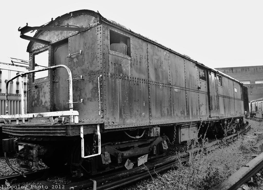(348k, 1024x742)<br><b>Country:</b> United States<br><b>City:</b> New York<br><b>System:</b> New York City Transit<br><b>Location:</b> Coney Island Yard-Museum Yard<br><b>Car:</b> Tool Welding Car (ACF, 1918)  5000 <br><b>Photo by:</b> John Dooley<br><b>Date:</b> 12/8/2012<br><b>Viewed (this week/total):</b> 0 / 1120