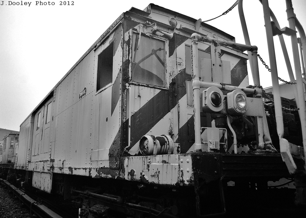 (306k, 1024x730)<br><b>Country:</b> United States<br><b>City:</b> New York<br><b>System:</b> New York City Transit<br><b>Location:</b> Coney Island Yard-Museum Yard<br><b>Car:</b> BMT Signal Supply Car (Diff. Car Co., 1927)  44 (ex-5003)<br><b>Photo by:</b> John Dooley<br><b>Date:</b> 12/8/2012<br><b>Viewed (this week/total):</b> 0 / 991