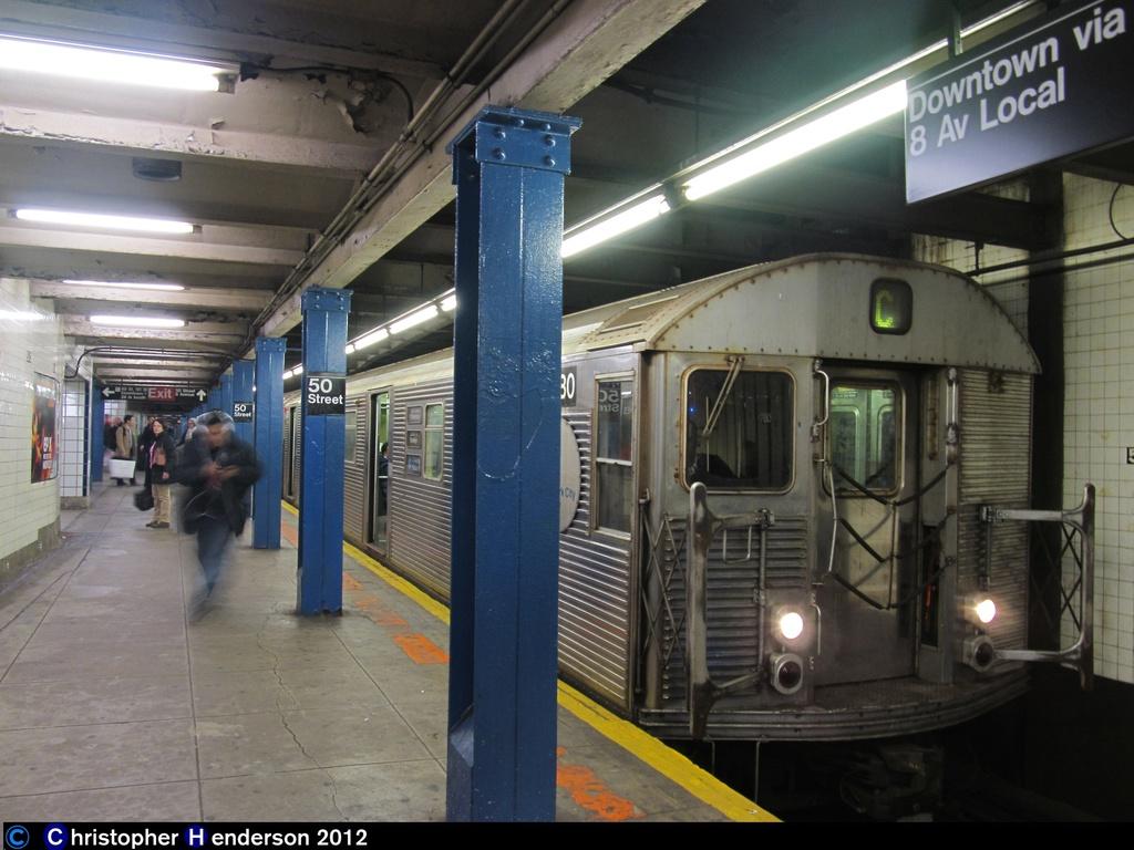(263k, 1024x768)<br><b>Country:</b> United States<br><b>City:</b> New York<br><b>System:</b> New York City Transit<br><b>Line:</b> IND Queens Boulevard Line<br><b>Location:</b> 50th Street <br><b>Route:</b> C<br><b>Car:</b> R-32 (Budd, 1964)  3780 <br><b>Photo by:</b> Christopher Henderson<br><b>Date:</b> 12/16/2012<br><b>Viewed (this week/total):</b> 1 / 1366