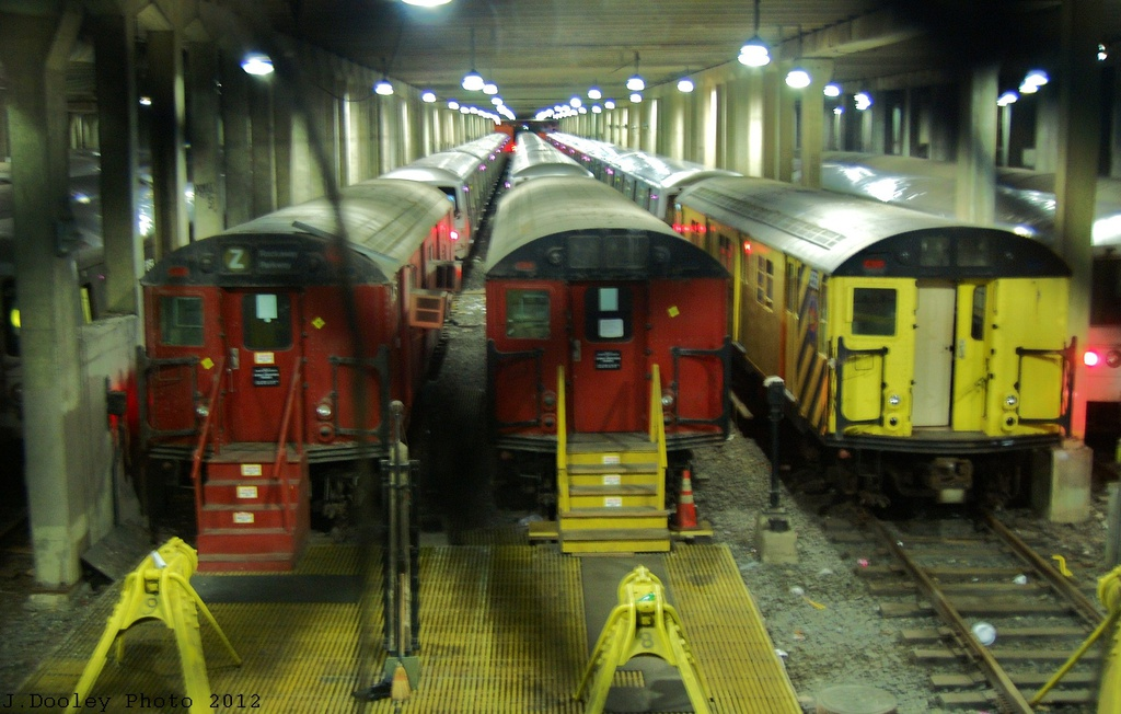 (297k, 1024x652)<br><b>Country:</b> United States<br><b>City:</b> New York<br><b>System:</b> New York City Transit<br><b>Location:</b> Pitkin Yard/Shops<br><b>Car:</b> R-30 (St. Louis, 1961)  <br><b>Photo by:</b> John Dooley<br><b>Date:</b> 12/21/2012<br><b>Viewed (this week/total):</b> 4 / 2489