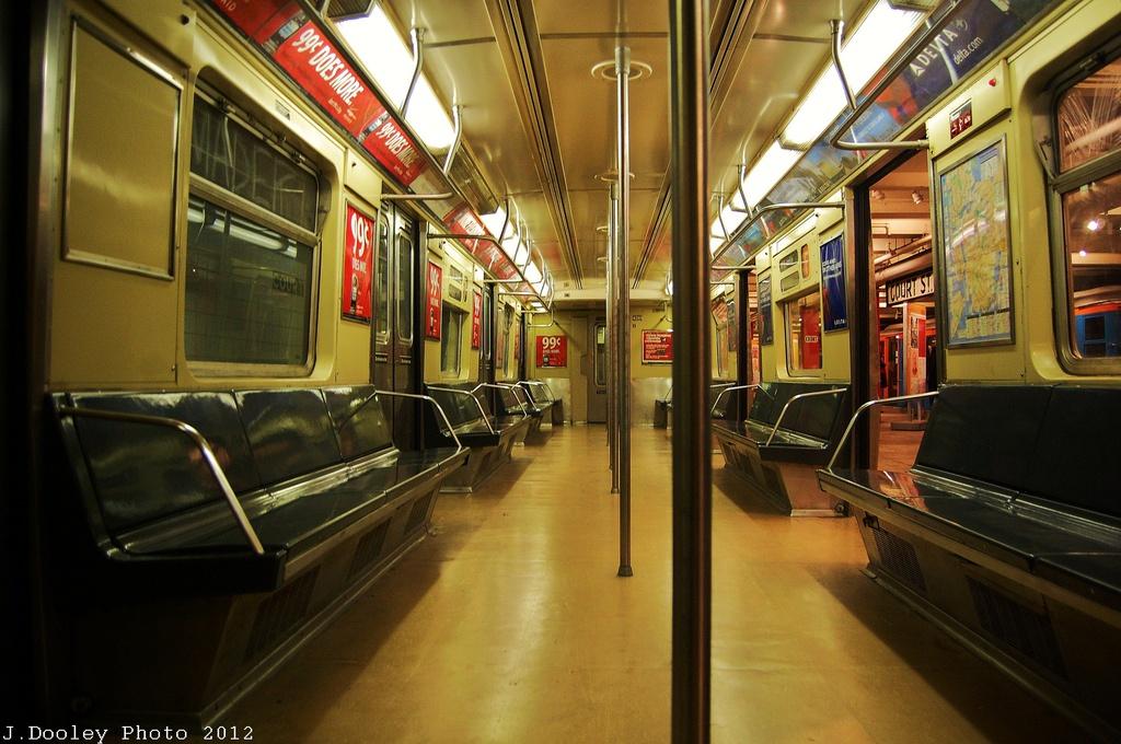 (328k, 1024x680)<br><b>Country:</b> United States<br><b>City:</b> New York<br><b>System:</b> New York City Transit<br><b>Location:</b> New York Transit Museum<br><b>Car:</b> R-40 (St. Louis, 1968)  4281 <br><b>Photo by:</b> John Dooley<br><b>Date:</b> 12/30/2012<br><b>Viewed (this week/total):</b> 1 / 1217