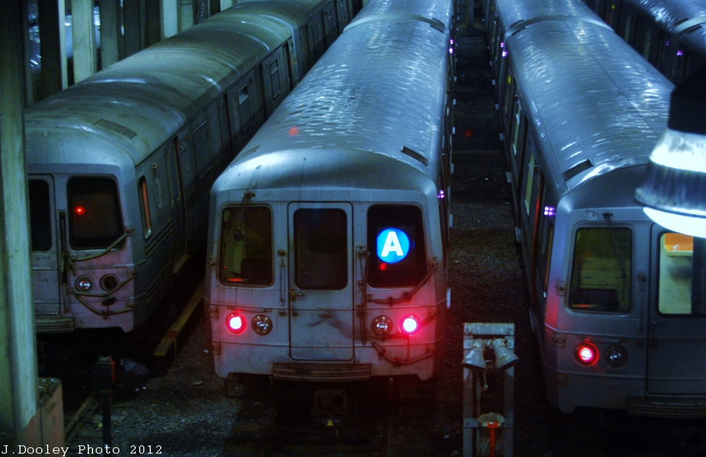 (259k, 1024x663)<br><b>Country:</b> United States<br><b>City:</b> New York<br><b>System:</b> New York City Transit<br><b>Location:</b> Pitkin Yard/Shops<br><b>Car:</b> R-46 (Pullman-Standard, 1974-75)  <br><b>Photo by:</b> John Dooley<br><b>Date:</b> 12/21/2012<br><b>Viewed (this week/total):</b> 0 / 1147