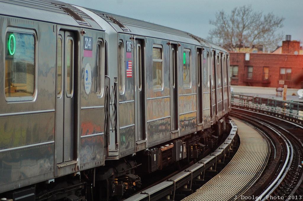 (331k, 1024x681)<br><b>Country:</b> United States<br><b>City:</b> New York<br><b>System:</b> New York City Transit<br><b>Line:</b> IRT Pelham Line<br><b>Location:</b> Buhre Avenue <br><b>Route:</b> 6<br><b>Car:</b> R-62A (Bombardier, 1984-1987)  1745 <br><b>Photo by:</b> John Dooley<br><b>Date:</b> 1/11/2013<br><b>Viewed (this week/total):</b> 1 / 1040