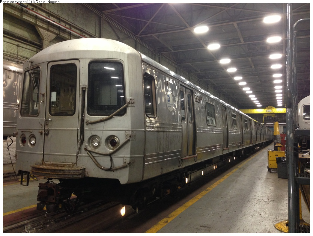 (295k, 1044x788)<br><b>Country:</b> United States<br><b>City:</b> New York<br><b>System:</b> New York City Transit<br><b>Location:</b> 207th Street Shop<br><b>Car:</b> R-44 (St. Louis, 1971-73) 5382 <br><b>Photo by:</b> Daniel Negron<br><b>Date:</b> 2/14/2013<br><b>Viewed (this week/total):</b> 0 / 1304