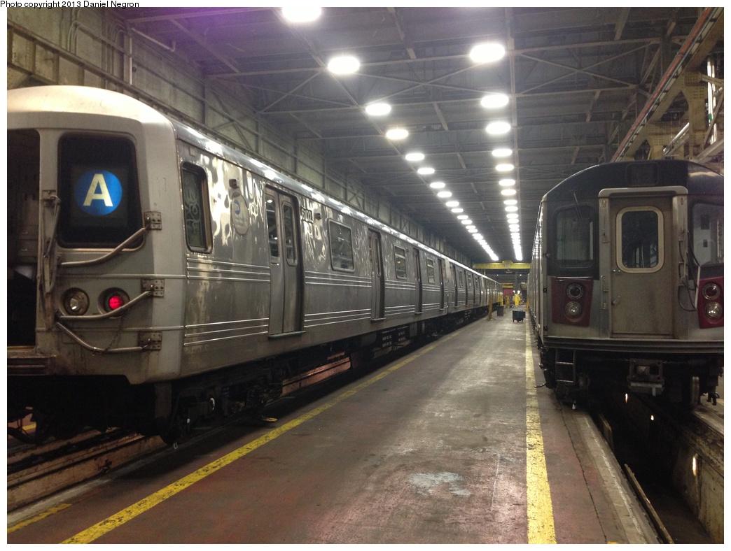 (288k, 1044x788)<br><b>Country:</b> United States<br><b>City:</b> New York<br><b>System:</b> New York City Transit<br><b>Location:</b> 207th Street Shop<br><b>Car:</b> R-46 (Pullman-Standard, 1974-75) 6102 <br><b>Photo by:</b> Daniel Negron<br><b>Date:</b> 2/14/2013<br><b>Viewed (this week/total):</b> 0 / 928