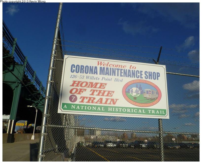 (212k, 820x666)<br><b>Country:</b> United States<br><b>City:</b> New York<br><b>System:</b> New York City Transit<br><b>Location:</b> Corona Yard<br><b>Photo by:</b> Kevin Wong<br><b>Date:</b> 1/31/2013<br><b>Viewed (this week/total):</b> 0 / 1051
