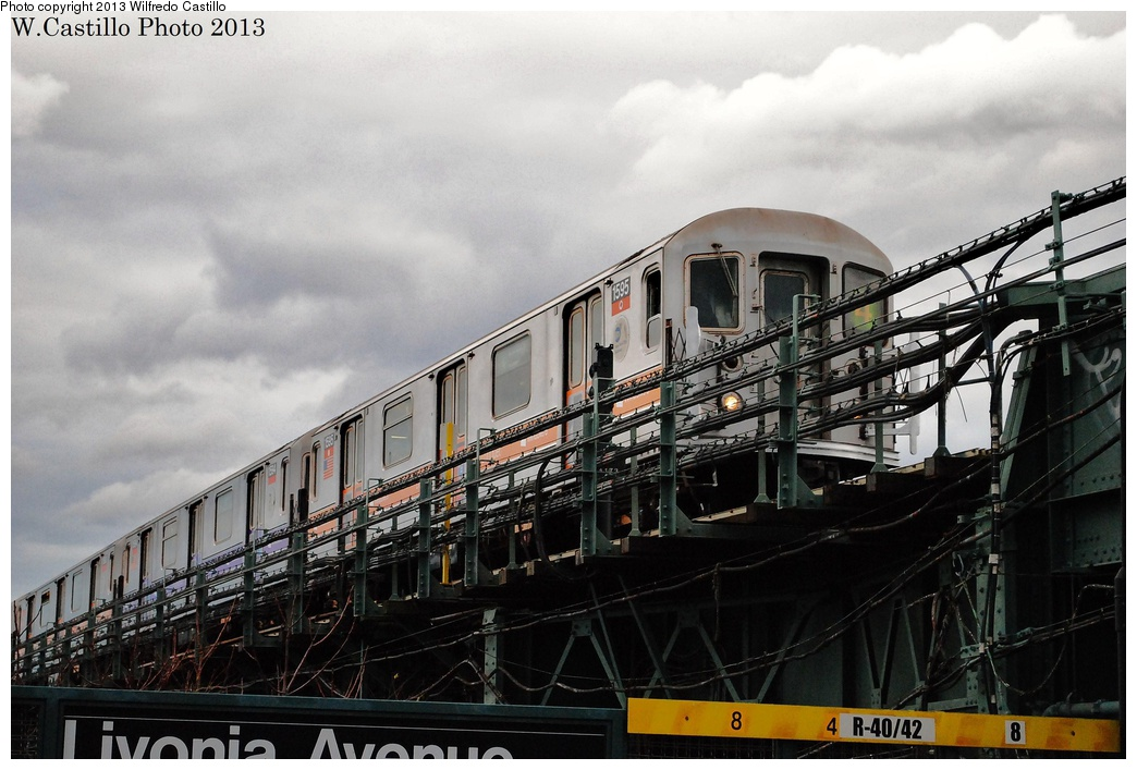 (308k, 1044x707)<br><b>Country:</b> United States<br><b>City:</b> New York<br><b>System:</b> New York City Transit<br><b>Line:</b> IRT Brooklyn Line<br><b>Location:</b> Sutter Avenue/Rutland Road <br><b>Route:</b> 4<br><b>Car:</b> R-62 (Kawasaki, 1983-1985)  1595 <br><b>Photo by:</b> Wilfredo Castillo<br><b>Date:</b> 11/2/2012<br><b>Viewed (this week/total):</b> 3 / 1126