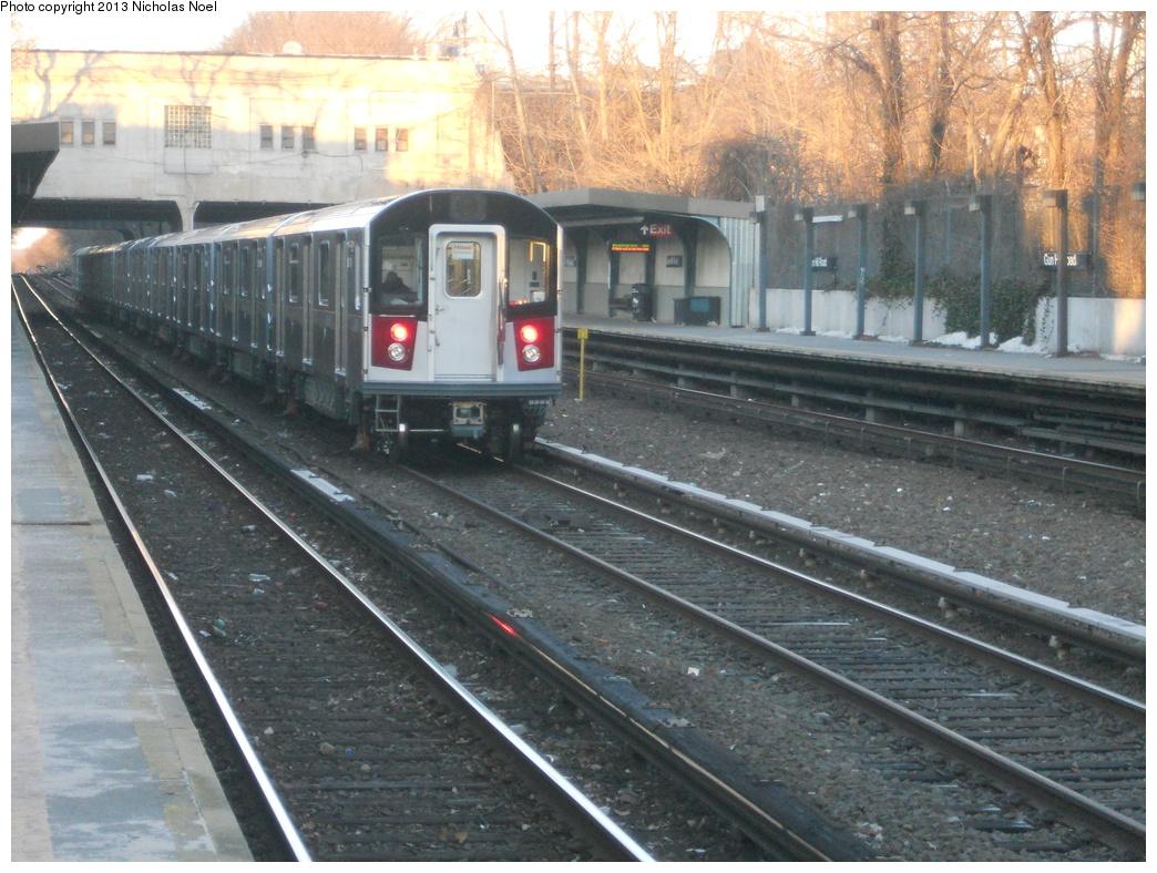 (426k, 1044x788)<br><b>Country:</b> United States<br><b>City:</b> New York<br><b>System:</b> New York City Transit<br><b>Line:</b> IRT Dyre Ave. Line<br><b>Location:</b> Gun Hill Road <br><b>Route:</b> Testing<br><b>Car:</b> R-188 (Kawasaki, 2012-) 7821 <br><b>Photo by:</b> Nicholas Noel<br><b>Date:</b> 2/21/2013<br><b>Viewed (this week/total):</b> 1 / 1234