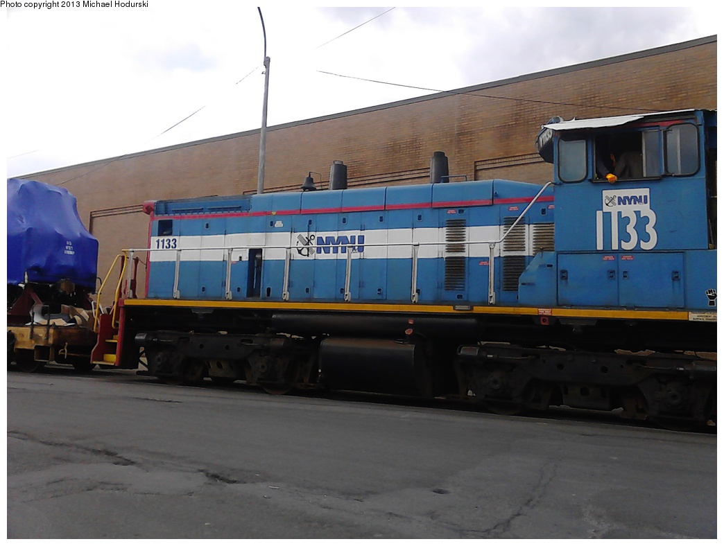 (216k, 1044x788)<br><b>Country:</b> United States<br><b>City:</b> New York<br><b>System:</b> New York City Transit<br><b>Line:</b> South Brooklyn Railway<br><b>Location:</b> SBK Yard (2nd Ave at 38th St.) (SBK)<br><b>Car:</b>  1133 <br><b>Photo by:</b> Michael Hodurski<br><b>Date:</b> 2/6/2013<br><b>Notes:</b> NYNJ Rail<br><b>Viewed (this week/total):</b> 0 / 848