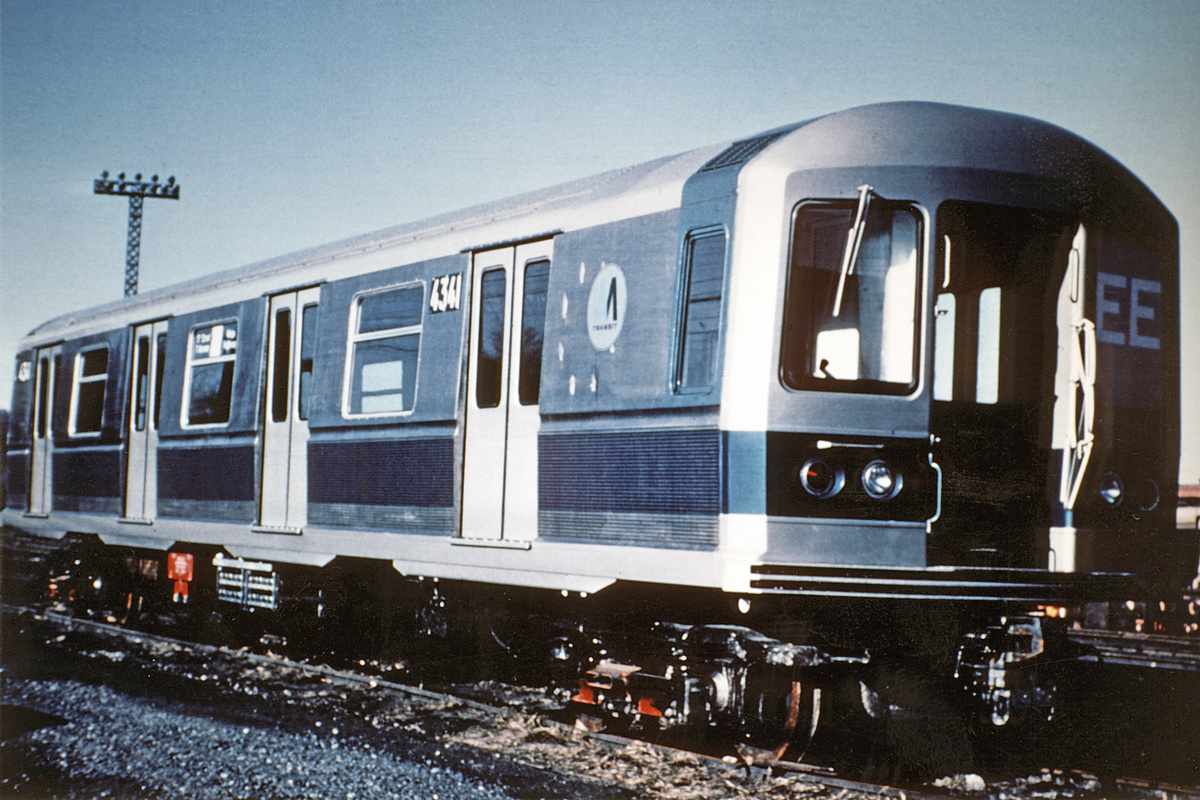 (365k, 1024x683)<br><b>Country:</b> United States<br><b>City:</b> New York<br><b>System:</b> New York City Transit<br><b>Location:</b> Coney Island Yard<br><b>Car:</b> R-40M (St. Louis, 1969)  4341 <br><b>Collection of:</b> David Pirmann<br><b>Date:</b> 1969<br><b>Viewed (this week/total):</b> 0 / 936
