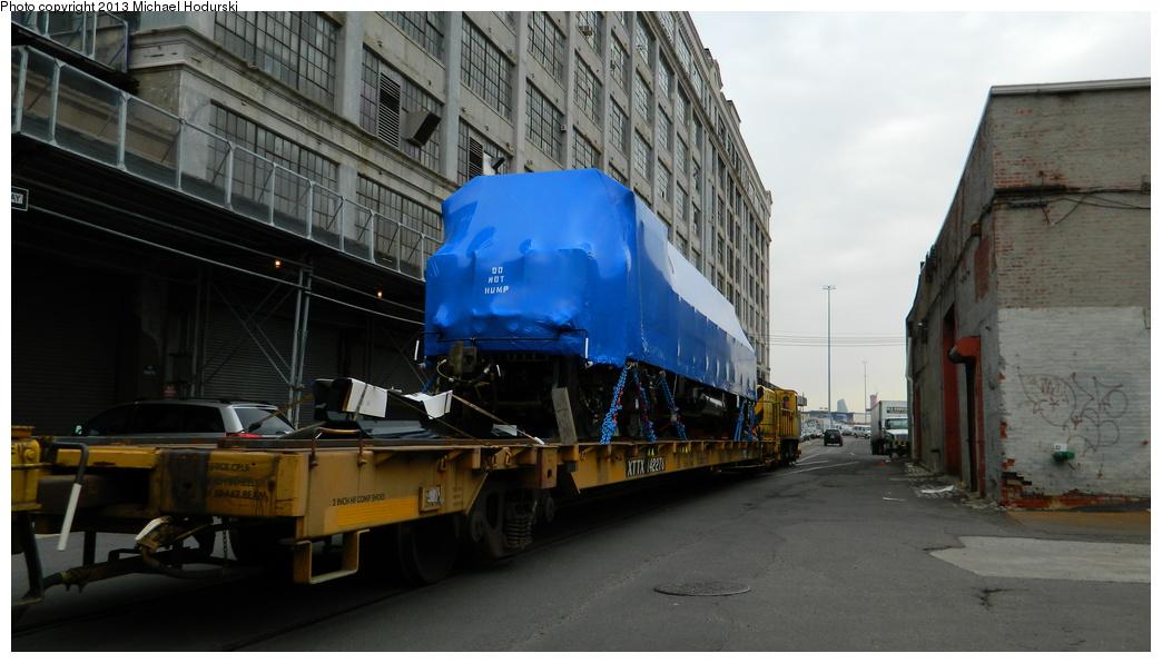 (281k, 1044x596)<br><b>Country:</b> United States<br><b>City:</b> New York<br><b>System:</b> New York City Transit<br><b>Line:</b> South Brooklyn Railway<br><b>Location:</b> 1st Avenue & 40th St (SBK)<br><b>Car:</b> R-156 Diesel-Electric Locomotive (MPI, 2012-2013) 914 <br><b>Photo by:</b> Michael Hodurski<br><b>Date:</b> 3/20/2013<br><b>Viewed (this week/total):</b> 0 / 865