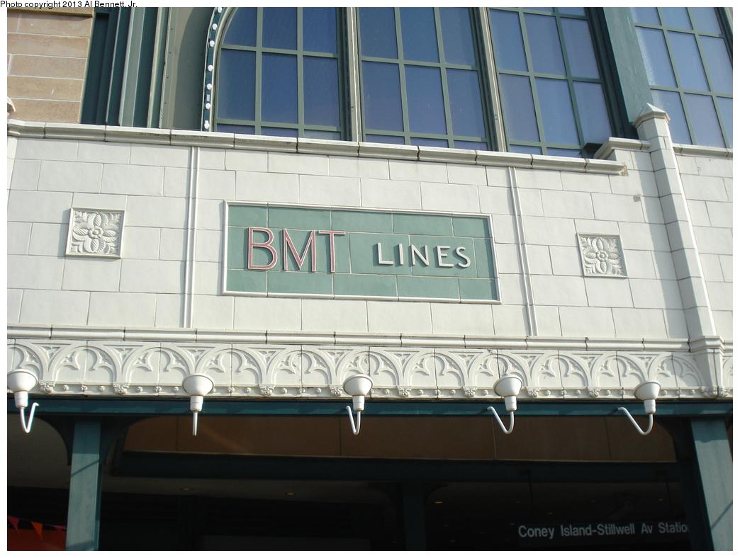 (280k, 1044x788)<br><b>Country:</b> United States<br><b>City:</b> New York<br><b>System:</b> New York City Transit<br><b>Location:</b> Coney Island/Stillwell Avenue<br><b>Photo by:</b> Al Bennett, Jr.<br><b>Date:</b> 4/1/2013<br><b>Viewed (this week/total):</b> 0 / 729