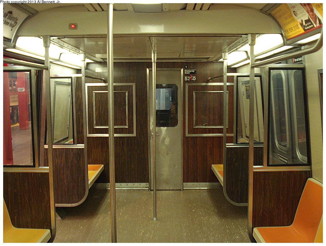 (394k, 1044x788)<br><b>Country:</b> United States<br><b>City:</b> New York<br><b>System:</b> New York City Transit<br><b>Location:</b> New York Transit Museum<br><b>Car:</b> R-44 (St. Louis, 1971-73) 5240 <br><b>Photo by:</b> Al Bennett, Jr.<br><b>Date:</b> 4/4/2013<br><b>Viewed (this week/total):</b> 3 / 1724