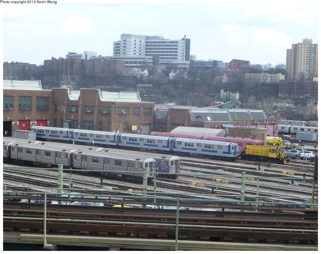 (369k, 1044x826)<br><b>Country:</b> United States<br><b>City:</b> New York<br><b>System:</b> New York City Transit<br><b>Location:</b> 207th Street Yard<br><b>Car:</b> R-33 Main Line (St. Louis, 1962-63) 9010/9011/9206/9207 <br><b>Photo by:</b> Kevin Wong<br><b>Date:</b> 4/1/2013<br><b>Viewed (this week/total):</b> 0 / 802