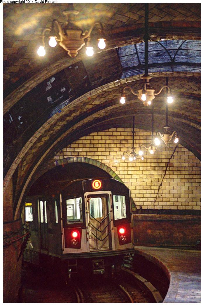 (418k, 698x1044)<br><b>Country:</b> United States<br><b>City:</b> New York<br><b>System:</b> New York City Transit<br><b>Line:</b> IRT East Side Line<br><b>Location:</b> City Hall <br><b>Photo by:</b> David Pirmann<br><b>Date:</b> 4/13/2013<br><b>Viewed (this week/total):</b> 0 / 2570