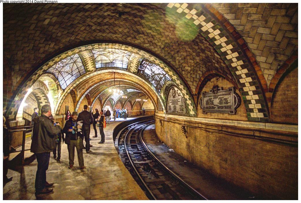 (449k, 1044x705)<br><b>Country:</b> United States<br><b>City:</b> New York<br><b>System:</b> New York City Transit<br><b>Line:</b> IRT East Side Line<br><b>Location:</b> City Hall <br><b>Photo by:</b> David Pirmann<br><b>Date:</b> 4/13/2013<br><b>Viewed (this week/total):</b> 5 / 3882
