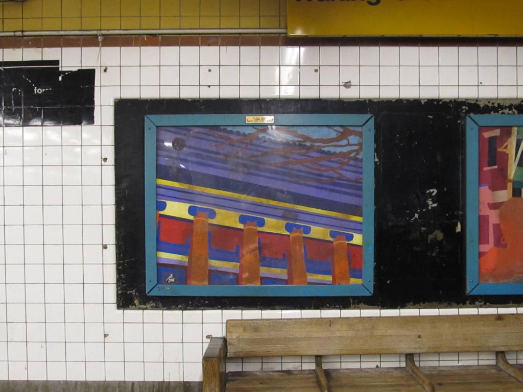 (109k, 1024x768)<br><b>Country:</b> United States<br><b>City:</b> New York<br><b>System:</b> New York City Transit<br><b>Line:</b> IND Fulton Street Line<br><b>Location:</b> Nostrand Avenue <br><b>Photo by:</b> Robbie Rosenfeld<br><b>Date:</b> 4/28/2013<br><b>Notes:</b> Artwork from the Ronald Edmonds Learning Center Community School District 13 Brooklyn.<br><b>Viewed (this week/total):</b> 0 / 710