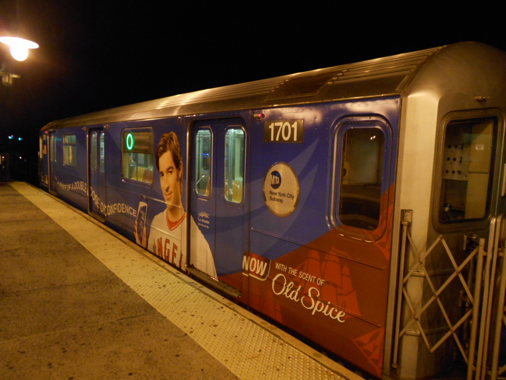 (392k, 1024x768)<br><b>Country:</b> United States<br><b>City:</b> New York<br><b>System:</b> New York City Transit<br><b>Line:</b> IRT Flushing Line<br><b>Location:</b> 61st Street/Woodside <br><b>Route:</b> 7<br><b>Car:</b> R-62A (Bombardier, 1984-1987)  1701 <br><b>Photo by:</b> Gary Chatterton<br><b>Date:</b> 6/12/2013<br><b>Viewed (this week/total):</b> 0 / 1168