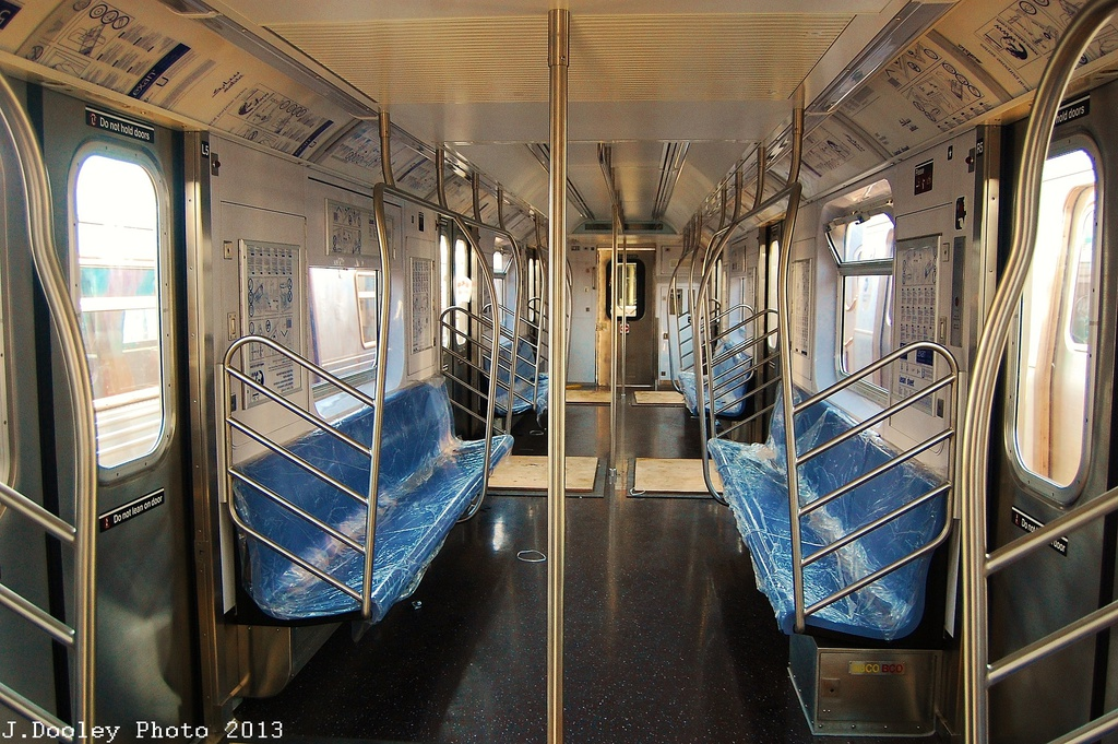 (404k, 1024x681)<br><b>Country:</b> United States<br><b>City:</b> New York<br><b>System:</b> New York City Transit<br><b>Location:</b> Coney Island Yard<br><b>Car:</b> R-188 (Kawasaki, 2012-)  <br><b>Photo by:</b> John Dooley<br><b>Date:</b> 6/22/2013<br><b>Viewed (this week/total):</b> 3 / 2934