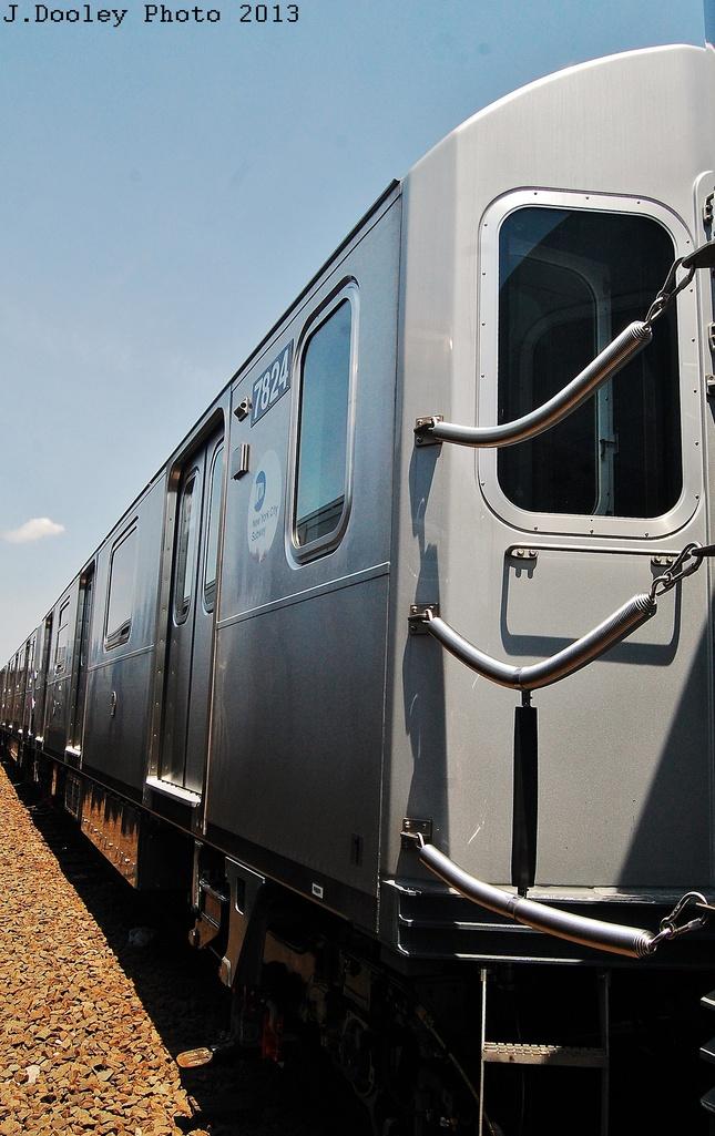 (296k, 645x1025)<br><b>Country:</b> United States<br><b>City:</b> New York<br><b>System:</b> New York City Transit<br><b>Location:</b> Coney Island Yard<br><b>Car:</b> R-188 (Kawasaki, 2012-) 7824 <br><b>Photo by:</b> John Dooley<br><b>Date:</b> 6/22/2013<br><b>Viewed (this week/total):</b> 0 / 669