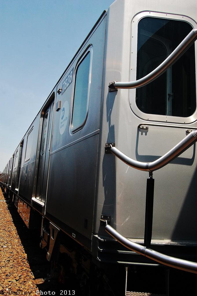 (305k, 681x1024)<br><b>Country:</b> United States<br><b>City:</b> New York<br><b>System:</b> New York City Transit<br><b>Location:</b> Coney Island Yard<br><b>Car:</b> R-188 (Kawasaki, 2012-) 7828 <br><b>Photo by:</b> John Dooley<br><b>Date:</b> 6/22/2013<br><b>Viewed (this week/total):</b> 0 / 623