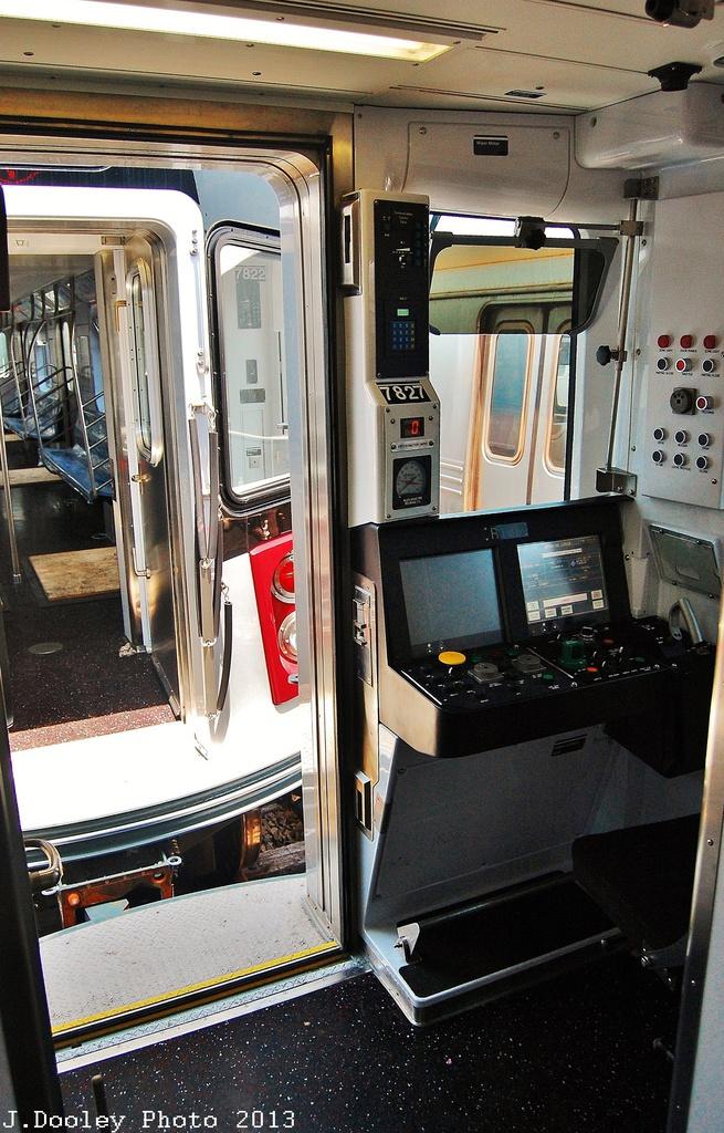 (370k, 655x1024)<br><b>Country:</b> United States<br><b>City:</b> New York<br><b>System:</b> New York City Transit<br><b>Location:</b> Coney Island Yard<br><b>Car:</b> R-188 (Kawasaki, 2012-) 7827 <br><b>Photo by:</b> John Dooley<br><b>Date:</b> 6/22/2013<br><b>Viewed (this week/total):</b> 0 / 1975