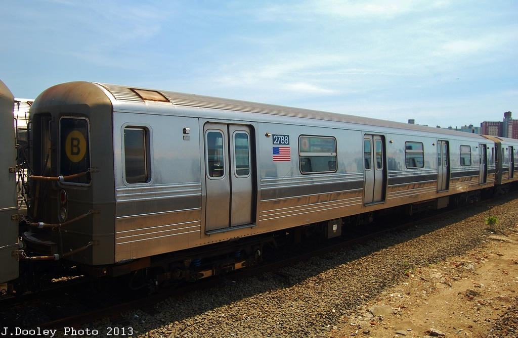 (301k, 1024x669)<br><b>Country:</b> United States<br><b>City:</b> New York<br><b>System:</b> New York City Transit<br><b>Location:</b> Coney Island Yard<br><b>Car:</b> R-68 (Westinghouse-Amrail, 1986-1988)  2788 <br><b>Photo by:</b> John Dooley<br><b>Date:</b> 6/22/2013<br><b>Viewed (this week/total):</b> 5 / 1310