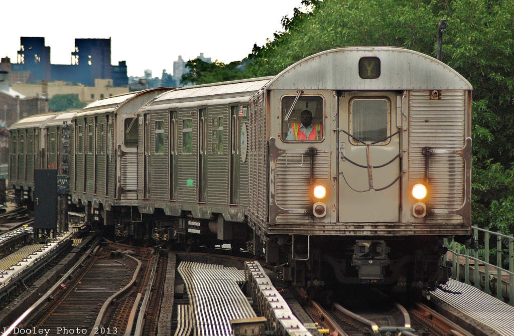 (374k, 1024x670)<br><b>Country:</b> United States<br><b>City:</b> New York<br><b>System:</b> New York City Transit<br><b>Location:</b> East New York Yard/Shops<br><b>Route:</b> J<br><b>Car:</b> R-32 (Budd, 1964)  3798 <br><b>Photo by:</b> John Dooley<br><b>Date:</b> 6/26/2013<br><b>Viewed (this week/total):</b> 1 / 999