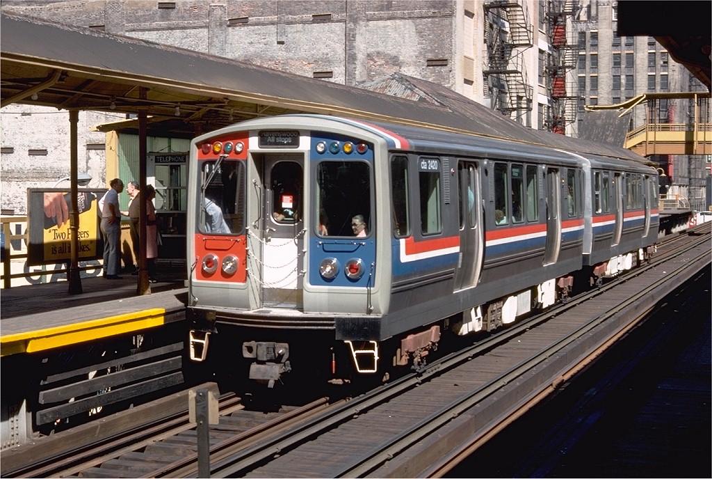 (243k, 1024x688)<br><b>Country:</b> United States<br><b>City:</b> Chicago, IL<br><b>System:</b> Chicago Transit Authority<br><b>Line:</b> CTA Loop<br><b>Location:</b> Clark/Lake<br><b>Route:</b> Ravenswood<br><b>Car:</b> CTA 2400 Series 2420 <br><b>Photo by:</b> Doug Grotjahn<br><b>Collection of:</b> Joe Testagrose<br><b>Date:</b> 8/16/1978<br><b>Viewed (this week/total):</b> 0 / 1998