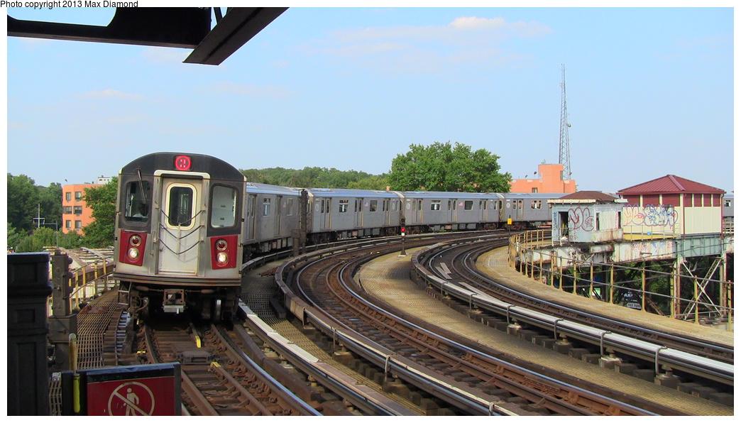 (278k, 1044x596)<br><b>Country:</b> United States<br><b>City:</b> New York<br><b>System:</b> New York City Transit<br><b>Line:</b> IRT White Plains Road Line<br><b>Location:</b> West Farms Sq./East Tremont Ave./177th St. <br><b>Route:</b> 2<br><b>Car:</b> R-142 or R-142A (Number Unknown)  <br><b>Photo by:</b> Max Diamond<br><b>Date:</b> 8/21/2013<br><b>Viewed (this week/total):</b> 0 / 953