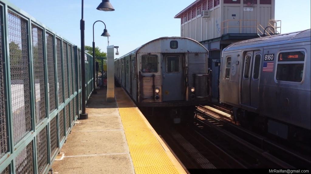 (185k, 1024x575)<br><b>Country:</b> United States<br><b>City:</b> New York<br><b>System:</b> New York City Transit<br><b>Line:</b> BMT Canarsie Line<br><b>Location:</b> Livonia Avenue <br><b>Car:</b> R-32 (Budd, 1964)  3477 <br><b>Photo by:</b> Mr. Railfan <br><b>Date:</b> 10/23/2012<br><b>Viewed (this week/total):</b> 2 / 1074
