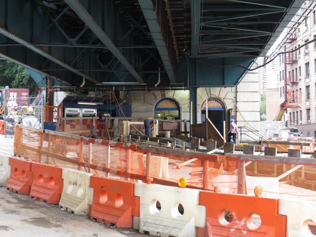 (135k, 1024x768)<br><b>Country:</b> United States<br><b>City:</b> New York<br><b>System:</b> New York City Transit<br><b>Line:</b> IRT West Side Line<br><b>Location:</b> Dyckman Street <br><b>Photo by:</b> Robbie Rosenfeld<br><b>Date:</b> 7/24/2013<br><b>Notes:</b> Station renovations in progress<br><b>Viewed (this week/total):</b> 0 / 857
