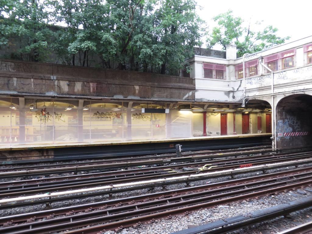 (171k, 1024x768)<br><b>Country:</b> United States<br><b>City:</b> New York<br><b>System:</b> New York City Transit<br><b>Line:</b> BMT Brighton Line<br><b>Location:</b> Parkside Avenue <br><b>Photo by:</b> Robbie Rosenfeld<br><b>Date:</b> 8/8/2013<br><b>Notes:</b> Station renovation in progress<br><b>Viewed (this week/total):</b> 0 / 1239