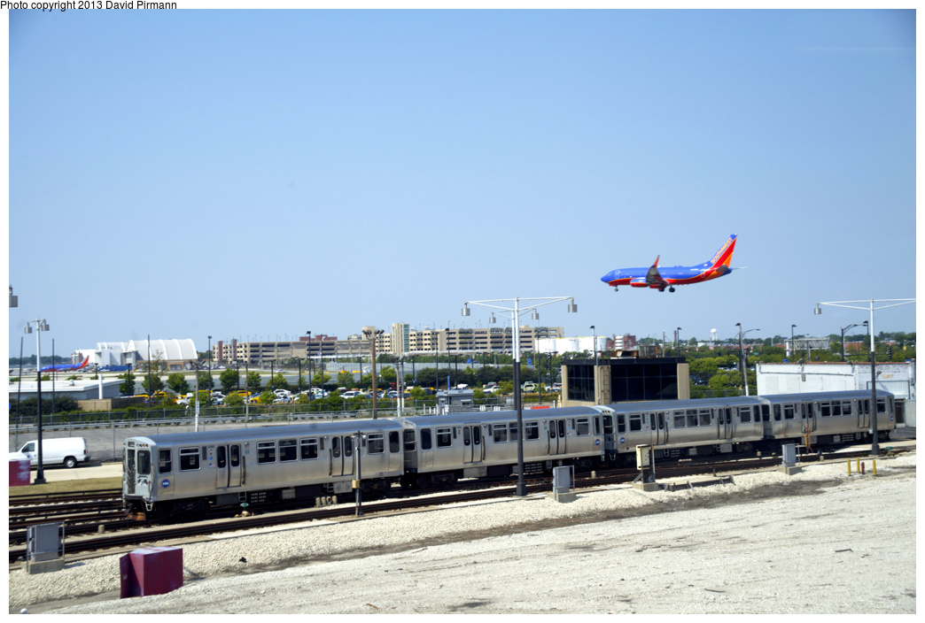 (284k, 1044x704)<br><b>Country:</b> United States<br><b>City:</b> Chicago, IL<br><b>System:</b> Chicago Transit Authority <br><b>Line:</b> CTA Orange (Midway)<br><b>Location:</b> Midway Yard <br><b>Car:</b> CTA 3200 Series 3246 <br><b>Photo by:</b> David Pirmann<br><b>Date:</b> 8/25/2013<br><b>Viewed (this week/total):</b> 0 / 1183