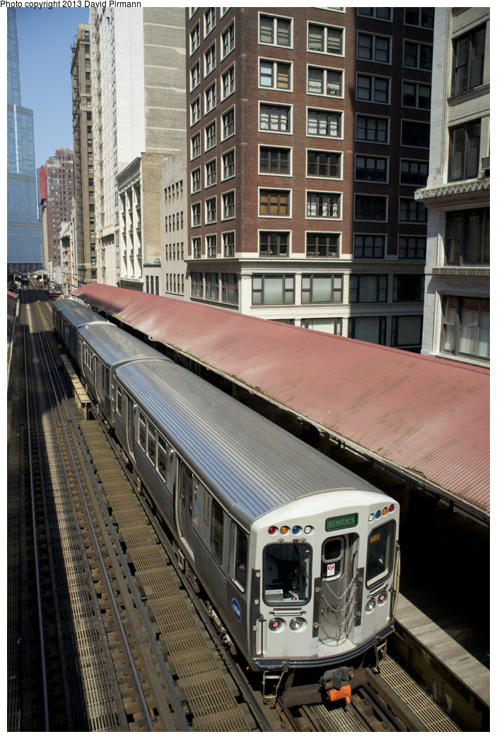 (406k, 703x1044)<br><b>Country:</b> United States<br><b>City:</b> Chicago, IL<br><b>System:</b> Chicago Transit Authority <br><b>Line:</b> CTA Loop<br><b>Location:</b> Madison/Wabash <br><b>Route:</b> Green<br><b>Car:</b> CTA 5000 Series 5130 <br><b>Photo by:</b> David Pirmann<br><b>Date:</b> 8/25/2013<br><b>Viewed (this week/total):</b> 1 / 407