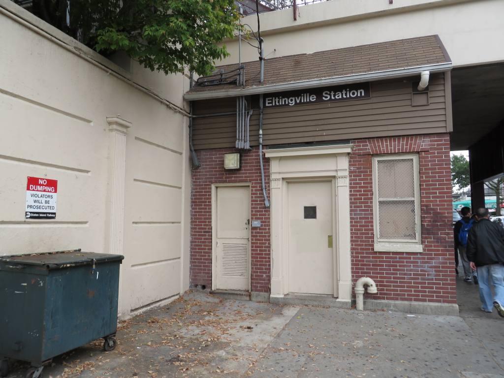 (124k, 1024x768)<br><b>Country:</b> United States<br><b>City:</b> New York<br><b>System:</b> New York City Transit<br><b>Line:</b> SIRT<br><b>Location:</b> Eltingville <br><b>Photo by:</b> Robbie Rosenfeld<br><b>Date:</b> 10/16/2013<br><b>Viewed (this week/total):</b> 0 / 582