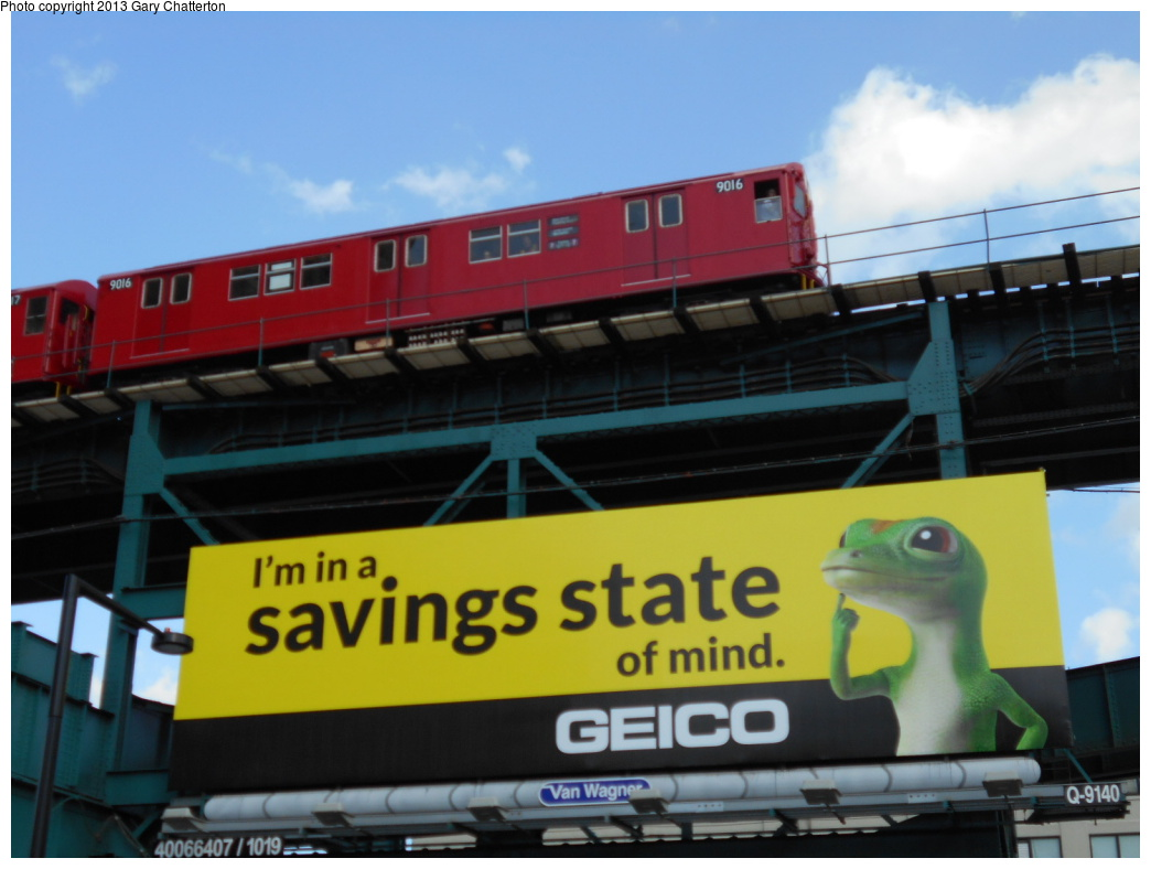 (275k, 1044x788)<br><b>Country:</b> United States<br><b>City:</b> New York<br><b>System:</b> New York City Transit<br><b>Line:</b> IRT Flushing Line<br><b>Location:</b> Queensborough Plaza <br><b>Route:</b> Museum Train Service<br><b>Car:</b> R-33 Main Line (St. Louis, 1962-63) 9016 <br><b>Photo by:</b> Gary Chatterton<br><b>Date:</b> 7/14/2013<br><b>Viewed (this week/total):</b> 1 / 1005
