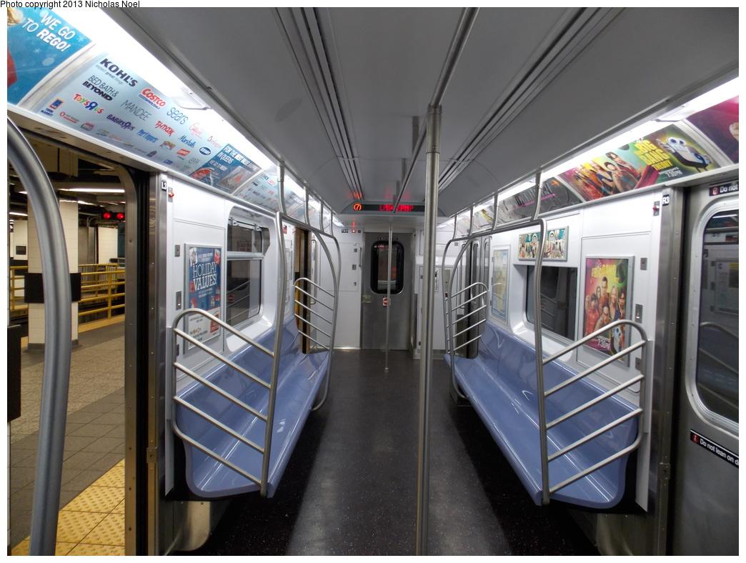 (361k, 1044x788)<br><b>Country:</b> United States<br><b>City:</b> New York<br><b>System:</b> New York City Transit<br><b>Route:</b> 7<br><b>Car:</b> R-188 (Kawasaki, 2012-) 7821 <br><b>Photo by:</b> Nicholas Noel<br><b>Date:</b> 12/1/2013<br><b>Viewed (this week/total):</b> 0 / 835