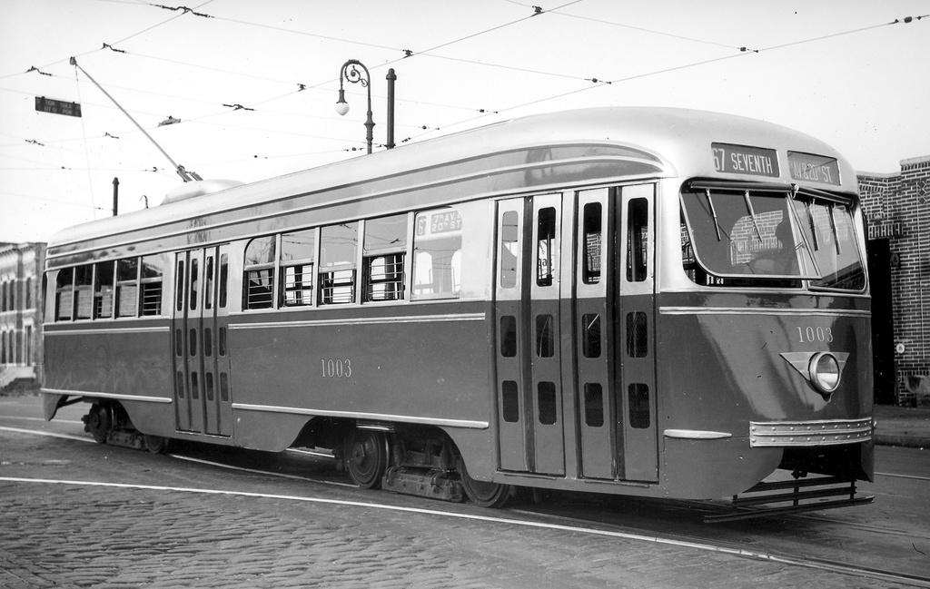 (220k, 1024x649)<br><b>Country:</b> United States<br><b>City:</b> New York<br><b>System:</b> Brooklyn & Queens Transit<br><b>Line:</b> 67/Seventh <br><b>Location:</b> 20th St/Prospect Park W-Depot <br><b>Car:</b> Brooklyn & Queens Transit PCC (St. Louis Car, 1936)  1003 <br><b>Viewed (this week/total):</b> 1 / 343