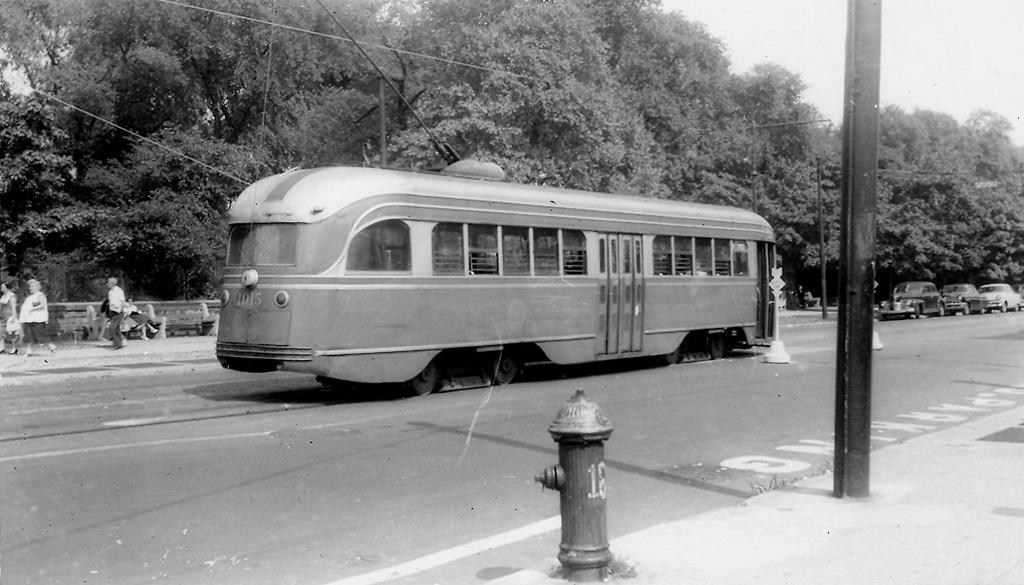 (205k, 1024x585)<br><b>Country:</b> United States<br><b>City:</b> New York<br><b>System:</b> Brooklyn & Queens Transit<br><b>Line:</b> 68/Coney Island Ave. <br><b>Location:</b> Prospect Park SW -- Bartel-Pritchard Square <br><b>Car:</b> Brooklyn & Queens Transit PCC (St. Louis Car, 1936)  1015 <br><b>Viewed (this week/total):</b> 1 / 340