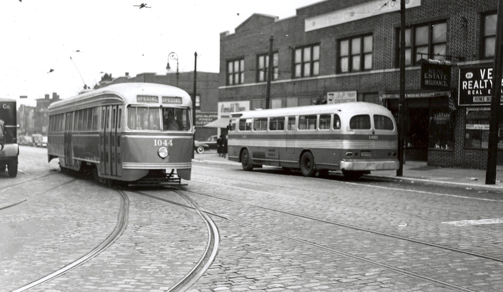 (202k, 1024x594)<br><b>Country:</b> United States<br><b>City:</b> New York<br><b>System:</b> Brooklyn & Queens Transit<br><b>Car:</b> Brooklyn & Queens Transit PCC (St. Louis Car, 1936) 1044 <br><b>Notes:</b> grand av brown place maspeth<br><b>Viewed (this week/total):</b> 0 / 788