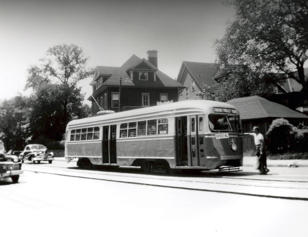 (204k, 1024x788)<br><b>Country:</b> United States<br><b>City:</b> New York<br><b>System:</b> Brooklyn & Queens Transit<br><b>Line:</b> 35/Church <br><b>Location:</b> Church Ave/Buckingham Ave <br><b>Car:</b> Brooklyn & Queens Transit PCC (St. Louis Car, 1936)  1051 <br><b>Viewed (this week/total):</b> 2 / 320