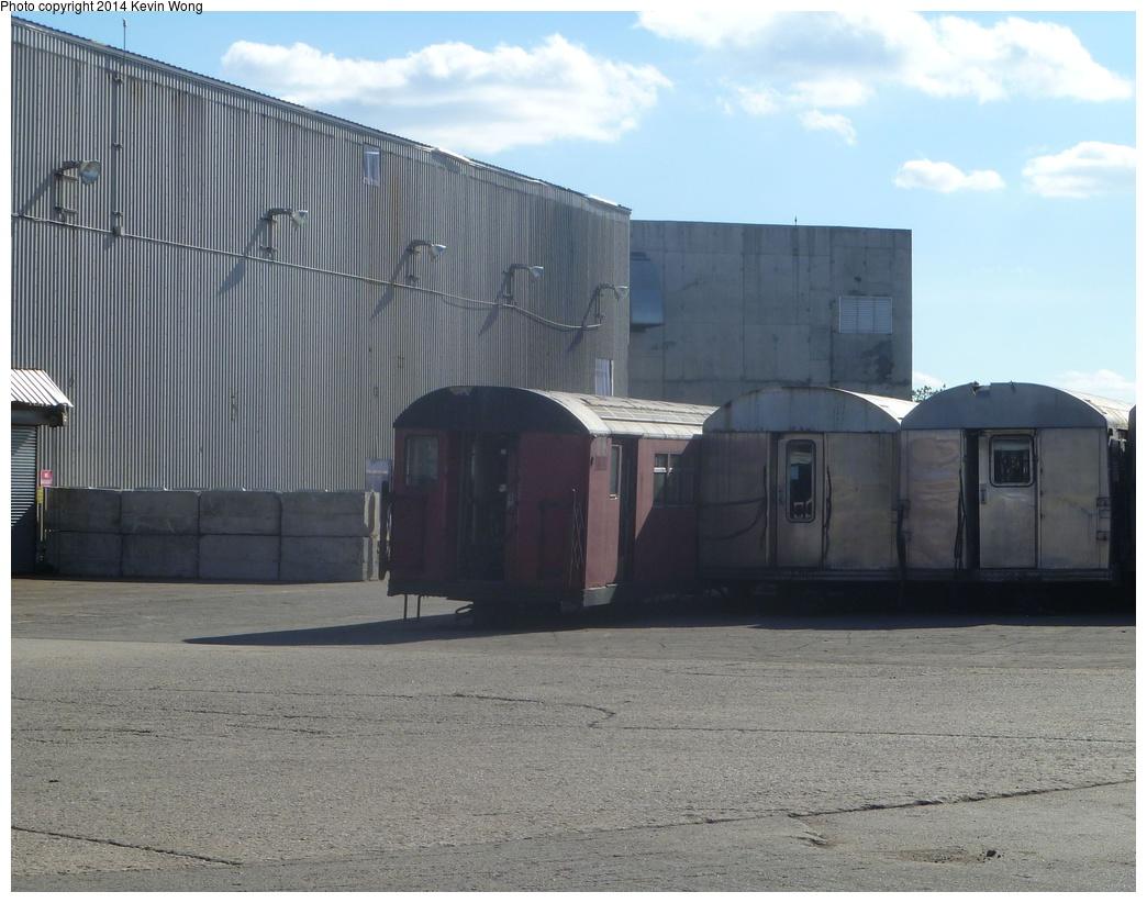 (313k, 1044x822)<br><b>Country:</b> United States<br><b>City:</b> New York<br><b>System:</b> New York City Transit<br><b>Location:</b> Sims Metal, Newark NJ<br><b>Photo by:</b> Kevin Wong<br><b>Date:</b> 10/27/2013<br><b>Notes:</b> Scrap line<br><b>Viewed (this week/total):</b> 0 / 534