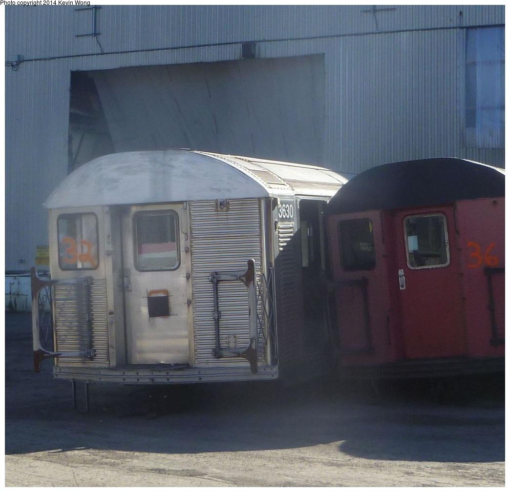 (307k, 1044x1008)<br><b>Country:</b> United States<br><b>City:</b> New York<br><b>System:</b> New York City Transit<br><b>Location:</b> Sims Metal, Newark NJ<br><b>Photo by:</b> Kevin Wong<br><b>Date:</b> 10/27/2013<br><b>Notes:</b> Scrap line<br><b>Viewed (this week/total):</b> 0 / 392