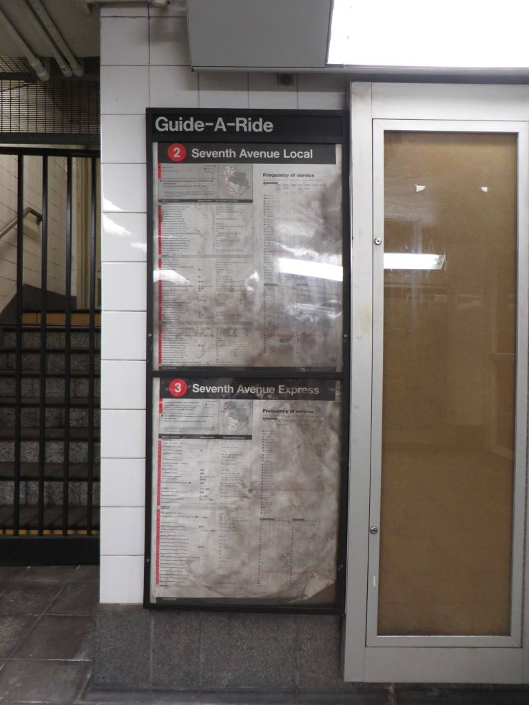 (98k, 768x1024)<br><b>Country:</b> United States<br><b>City:</b> New York<br><b>System:</b> New York City Transit<br><b>Line:</b> IRT West Side Line<br><b>Location:</b> Fulton Street <br><b>Photo by:</b> Robbie Rosenfeld<br><b>Date:</b> 10/27/2013<br><b>Viewed (this week/total):</b> 0 / 1703