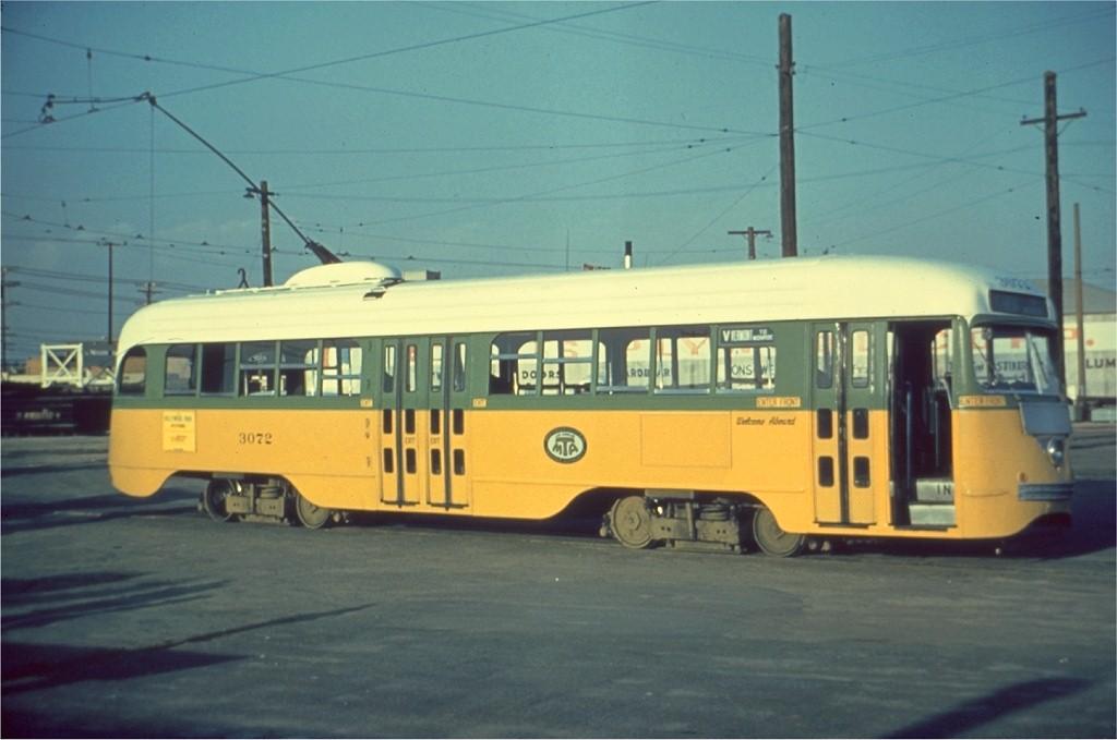 (135k, 1024x679)<br><b>Country:</b> United States<br><b>City:</b> Los Angeles, CA<br><b>System:</b> LARY/LATL/PE/LAMTA <br><b>Car:</b> PCC  3072 <br><b>Collection of:</b> Joe Testagrose<br><b>Notes:</b> on rt v at vernon yard loop<br><b>Viewed (this week/total):</b> 1 / 490