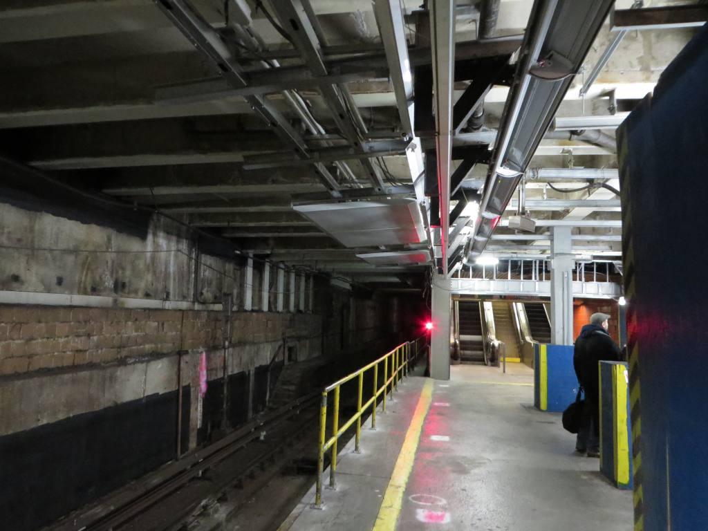 (105k, 1024x768)<br><b>Country:</b> United States<br><b>City:</b> New York<br><b>System:</b> New York City Transit<br><b>Line:</b> IND 63rd Street<br><b>Location:</b> Lexington Avenue-63rd Street <br><b>Photo by:</b> Robbie Rosenfeld<br><b>Date:</b> 1/20/2014<br><b>Notes:</b> Station renovation for 2nd Ave subway<br><b>Viewed (this week/total):</b> 1 / 1735