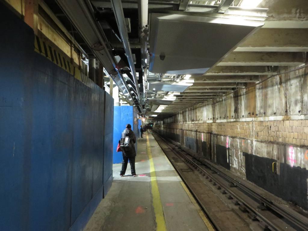 (103k, 1024x768)<br><b>Country:</b> United States<br><b>City:</b> New York<br><b>System:</b> New York City Transit<br><b>Line:</b> IND 63rd Street<br><b>Location:</b> Lexington Avenue-63rd Street <br><b>Photo by:</b> Robbie Rosenfeld<br><b>Date:</b> 1/20/2014<br><b>Notes:</b> Station renovation for 2nd Ave subway<br><b>Viewed (this week/total):</b> 1 / 1681